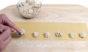 stuffed pasta preparation Article