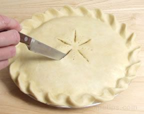 how to make a double pie crust Article