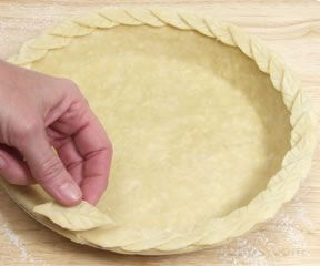 Decorative Pie Crust Edges