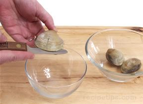 how to prepare and open clams Article