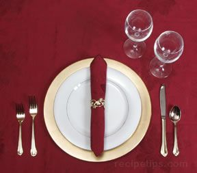 Table Settings Formal Casual or Buffet