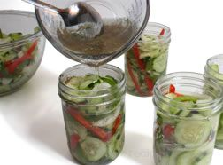 how to make refrigerator pickles Article