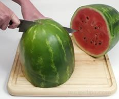 Remove Seeds from a Watermelon