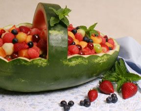 how to make a watermelon basket Article