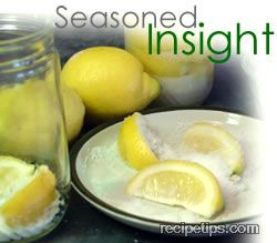 preserving lemons Article
