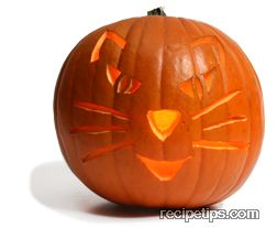 When All The Lines Have Been Cut Out And You Are Finished Carving Pumpkin Light Jack O Lantern With A Candle Or Any Other Source Enjoy