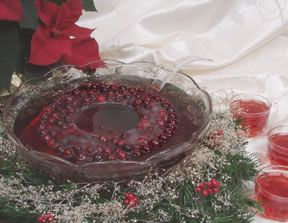 Cranberry Ice Ring