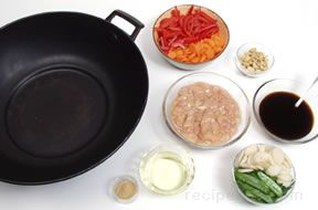 Stir-Frying Turkey